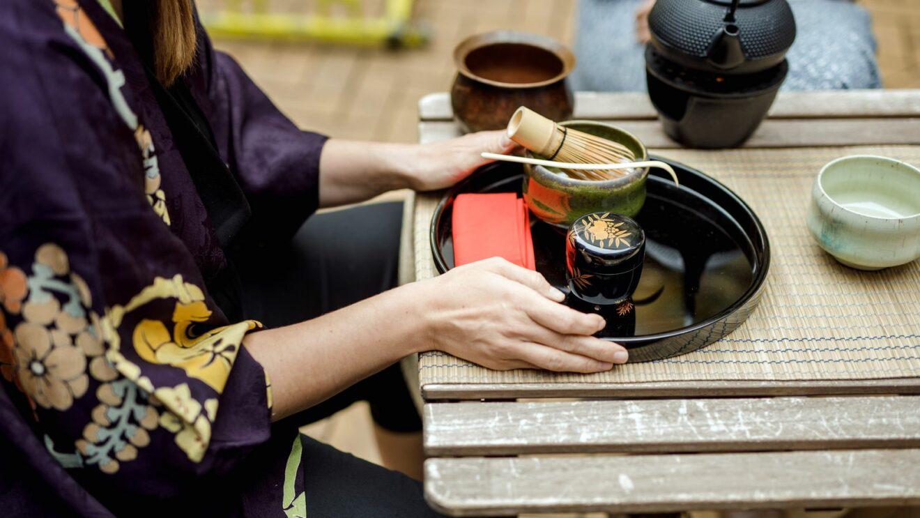 Japanische Teezeremonie - Foto: Claudia Jacquemin