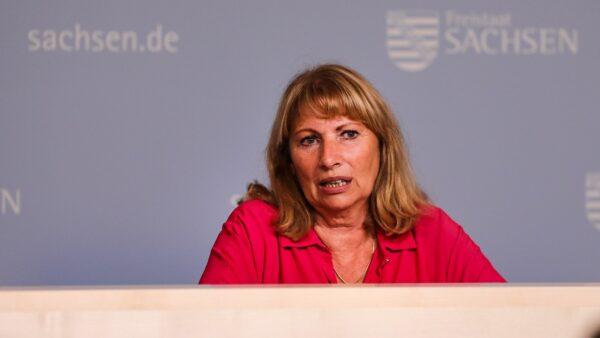 Gesundheitsministerin Petra Köpping (SPD) - Foto: Tino Plunert