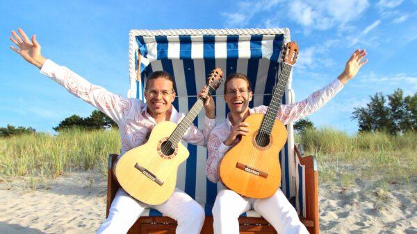 Die Guitarreros spielen am Dienstag in der Theaterruine. Foto: PR