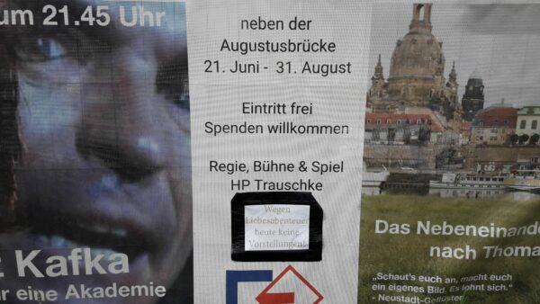 Liebesabenteuer - Wohl der Beste Grund eine Veranstaltung platzen zu lassen - Foto: Jonas Breitner