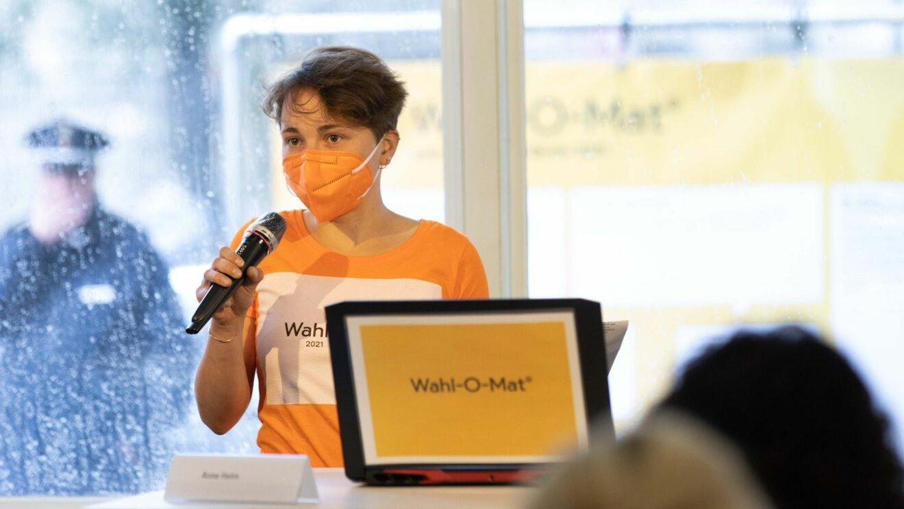 Seit heute ist der Wahl-O-Mat abrufbar. Foto: bpb, Bildkrafwerk, Zöhre Kurc