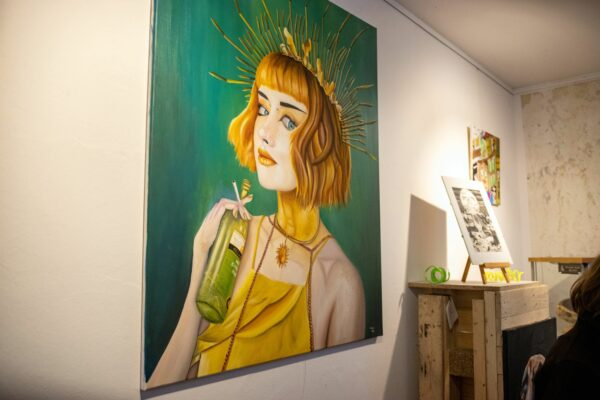 Ausstellung beim Neustadt-Art-Festival 2020 - Foto: Dave Mante