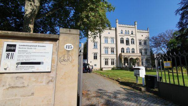 Gesundheitsamt auf der Bautzner Straße: Vorübergehend im Umbau