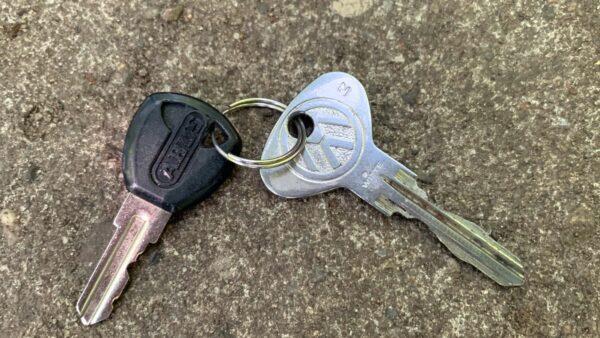 Gefundener Autoschlüssel