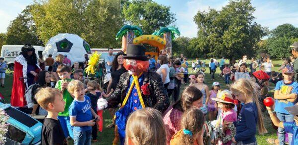 Kinderfest auf dem Alaunplatz - Foto von 2020