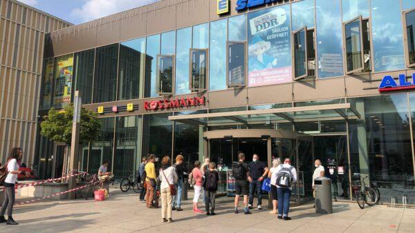 Stromausfall in Dresden - Geschäfte und Einkaufscenter mussten schließen