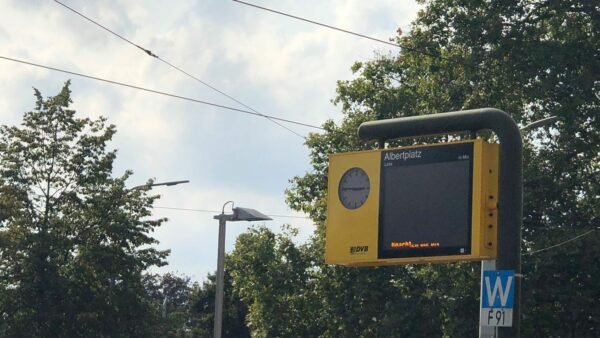 Stromausfall in Dresden - die Straßenbahnen fuhren rund eine halbe Stunde nicht