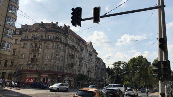 Stromausfall in Dresden - Ampeln blieben schwarz