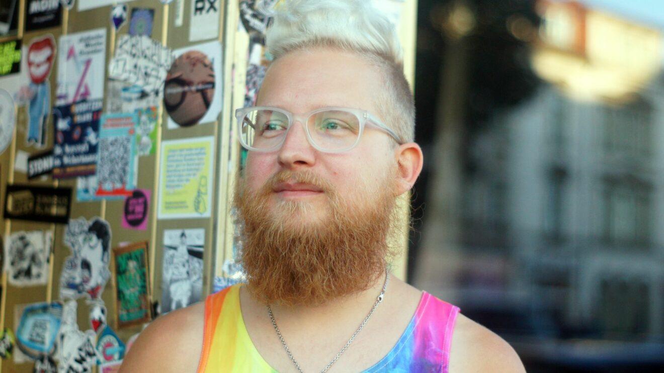 Dirk aus Löbau hat ein Ziel: lebenslanges Lernen. Foto: Philine