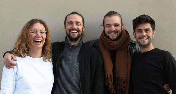 Nicama-Gründer: Luca, Jannis, Leander & Zeno - Foto: Nicama