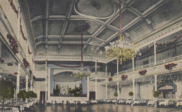 Der Feen-Saal der Reichskrone - Postkarte von 1913