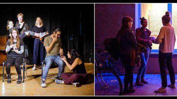 Theater und Party in der Kultur-Centrale