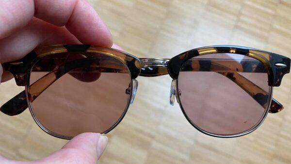 Gefundene Brille