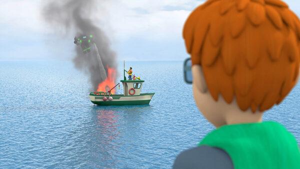 Feuerwehrmann Sam - Helden fallen nicht vom Himmel - in der Schauburg