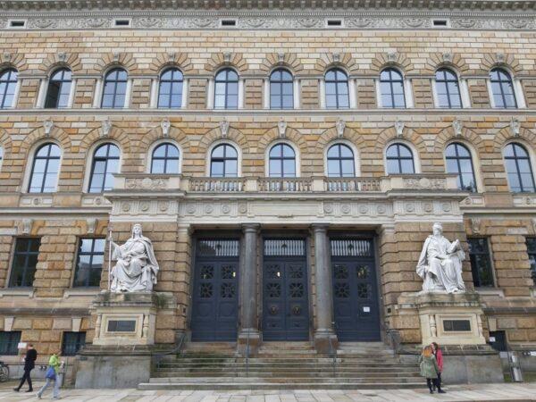 Hier wurde lange verhandelt: Das Amts- und Landgericht Dresden
