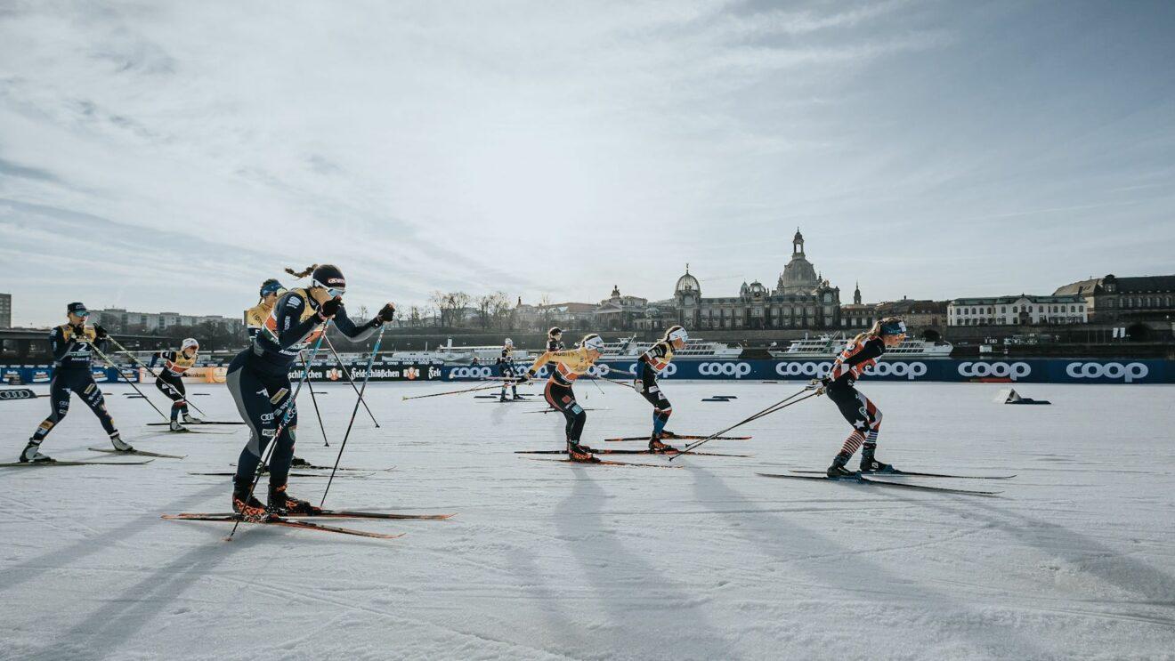 2020 (Dezember), Teamsprint Damen, Wettkampf, Foto: Ric Flade