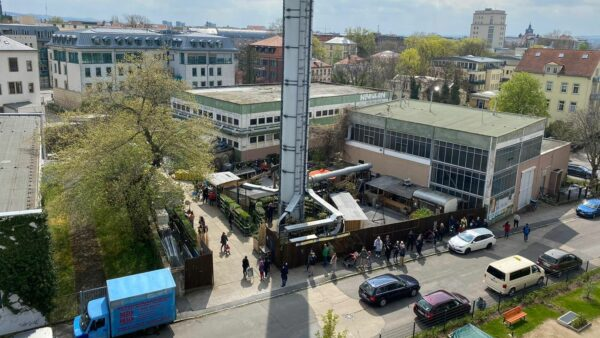 Trödelhallen an der Stetzscher Straße