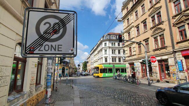 An der Görlitzer/Rothenburger wird die Tempo-20-Zone unterbrochen.