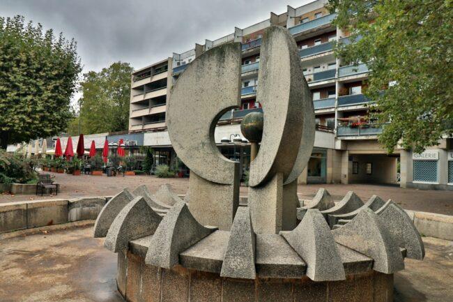 Der Brunnen von Friedrich Kracht soll saniert werden.