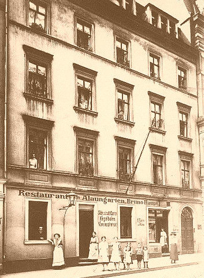 Alaungarten - Postkarte von 1911
