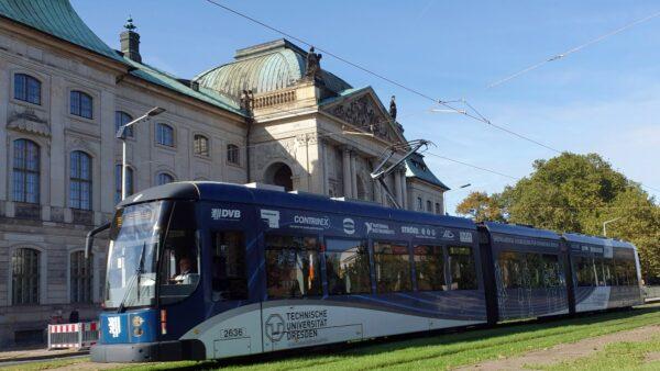 Linie 9 fährt wieder über die Große Meißner Straße