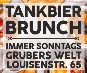 Tankbier Brunch in Grubers Welt